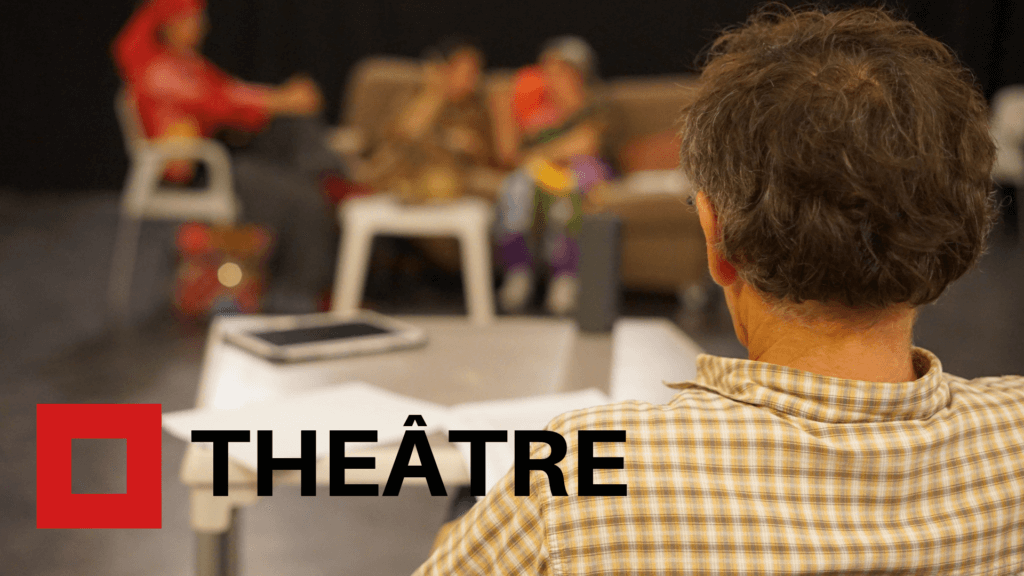 Atelier de théâtre animé par Chrsitophe Waiss, metteur en scène et acteur. Il dirige des amateurs dans cet atelier.