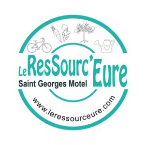Logo et lien vers Le Ressourc'Eure à Saint Georges Motel